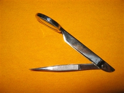 Tweezers with Magnifier Glass